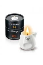 Bougie de massage - Chocolat - Bougie érotique se transformant en huile de massage sensuelle au goût gourmand de chocolat.